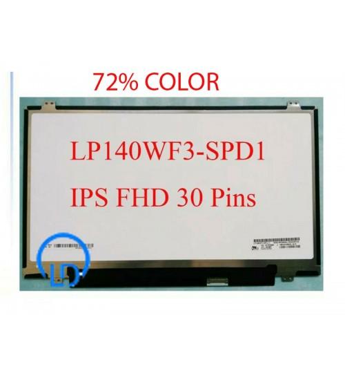 Màn hình Laptop lp140wf3-spd1  B140HAN01.1 B140HAN01.2 14.0 LED Mỏng 30 chân Full HD IPS  COLOR 72%
